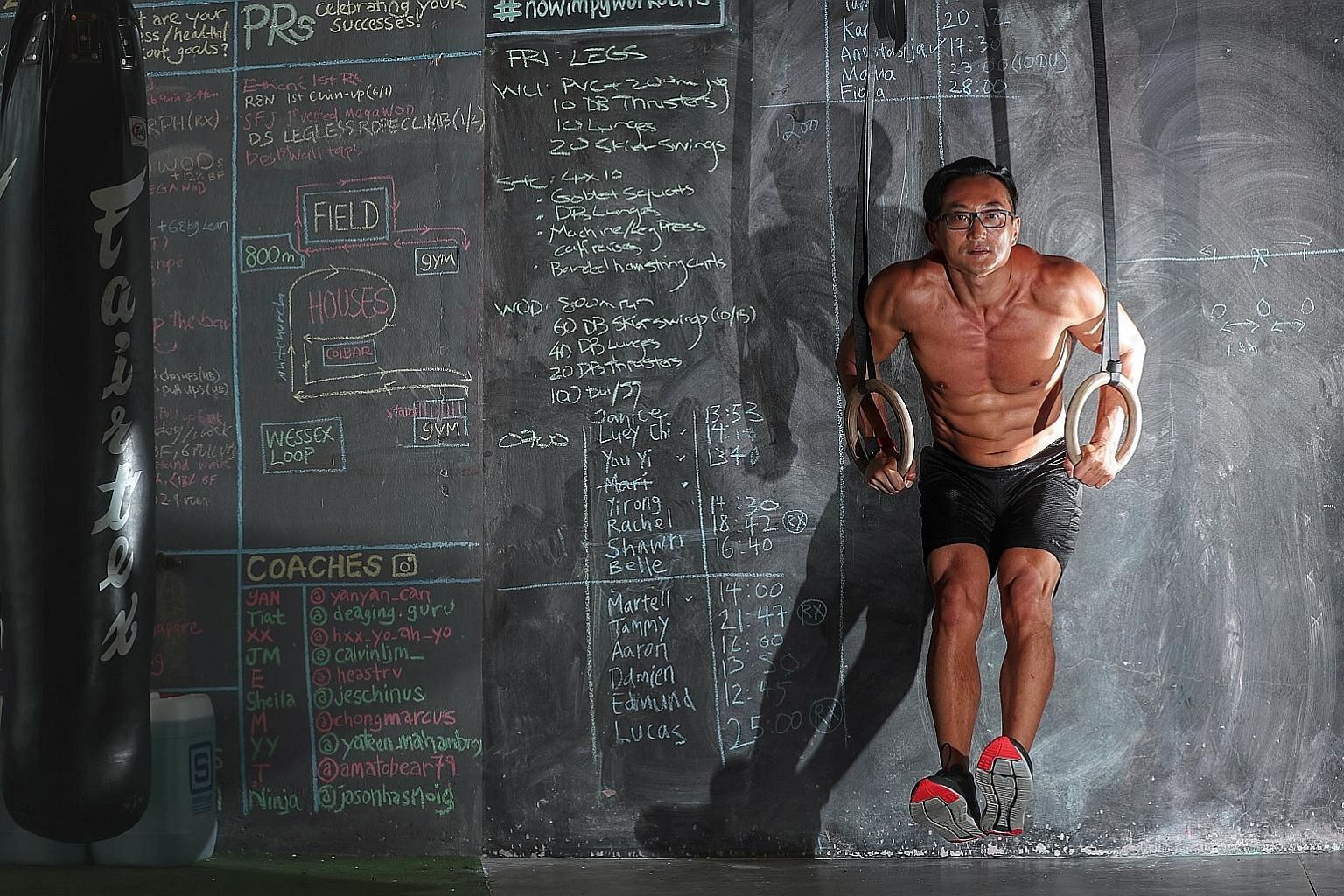Mr Tiat Lim co-founded Bespoke Fitness gym with his sister.
