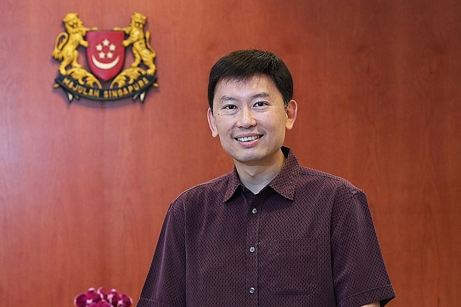 Senior Minister of State for Trade and Industry Chee Hong Tat says heartland shops have to play to their strengths.