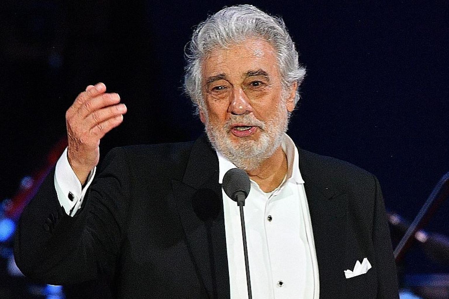Placido Domingo said on March 22 he had tested positive for Covid-19.