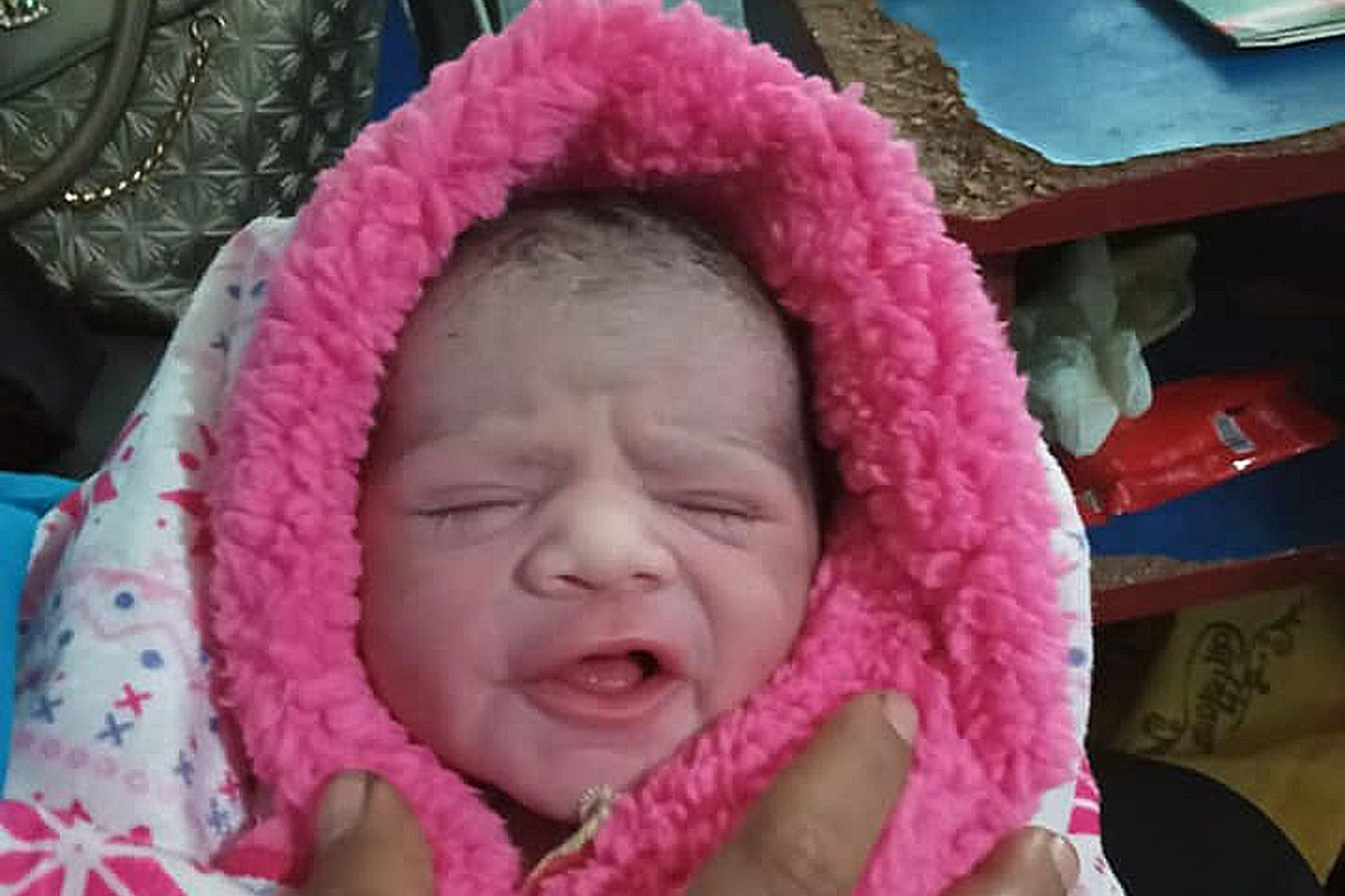 Ms Dipa Swaminathan, founder of social enterprise ItsRainingRaincoats, posted on Facebook a photo of the worker's newborn baby boy, who arrived on Monday afternoon. She said the mother and child are doing well in Bangladesh.