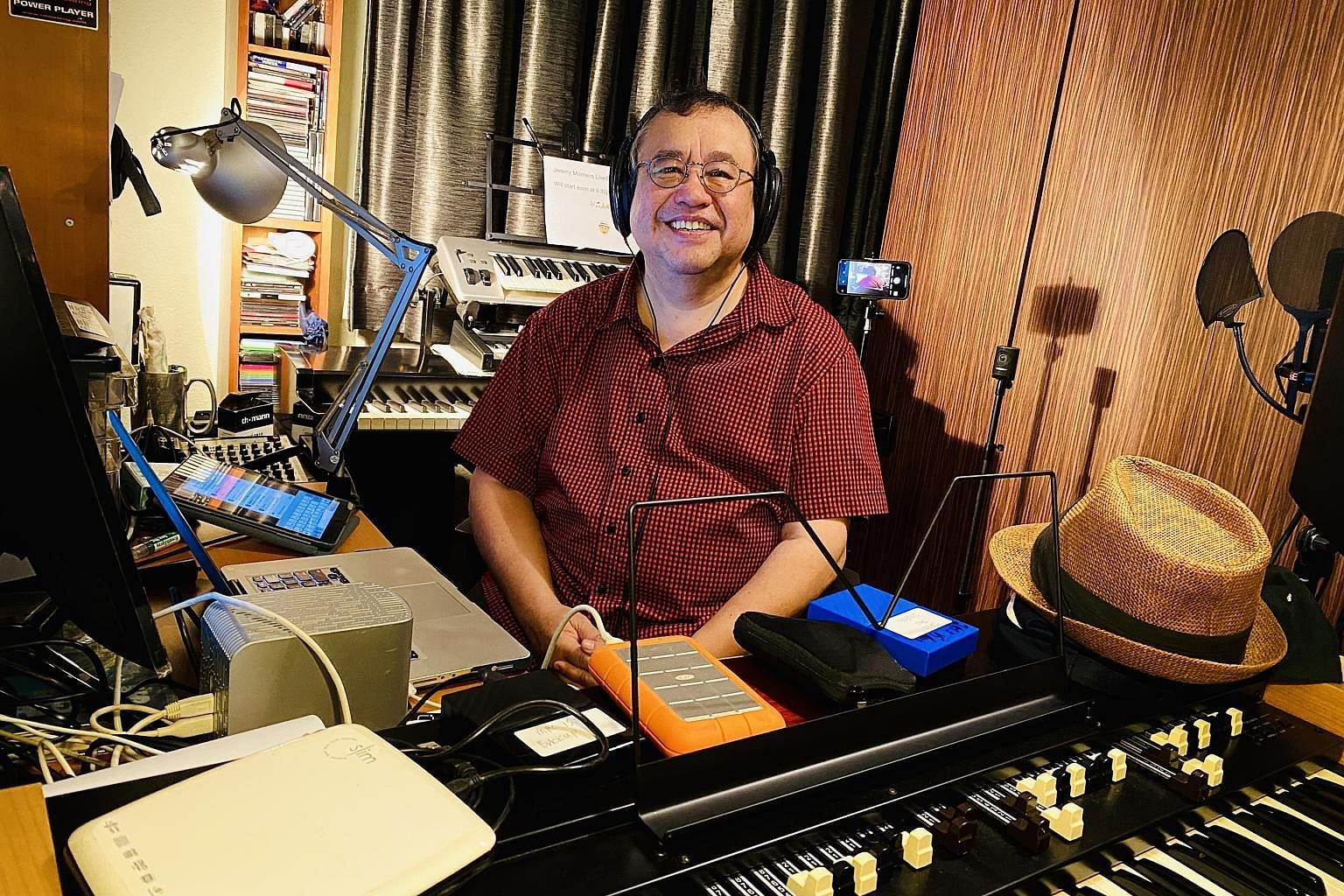 Jazz maestro Jeremy Monteiro is duly occupied with entertaining fans via livestreams, recording vocals at his home studio, working on finishing his second book and practising music three times more than he normally does.