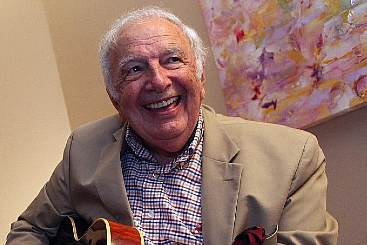 Both jazz guitarist Bucky Pizzarelli (above) and pianist Ellis Marsalis died of complications from Covid-19 on Wednesday.