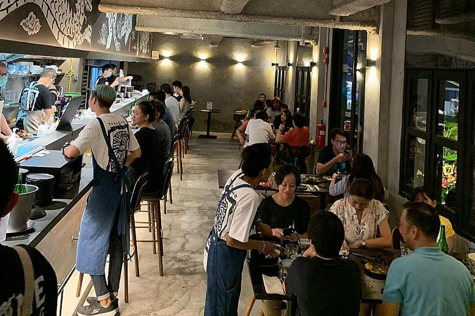 Torasho, a ramen and izakaya restaurant in Tras Street, has been enjoying a bustling dine-in scene, but is now looking at what it can offer for takeaways.