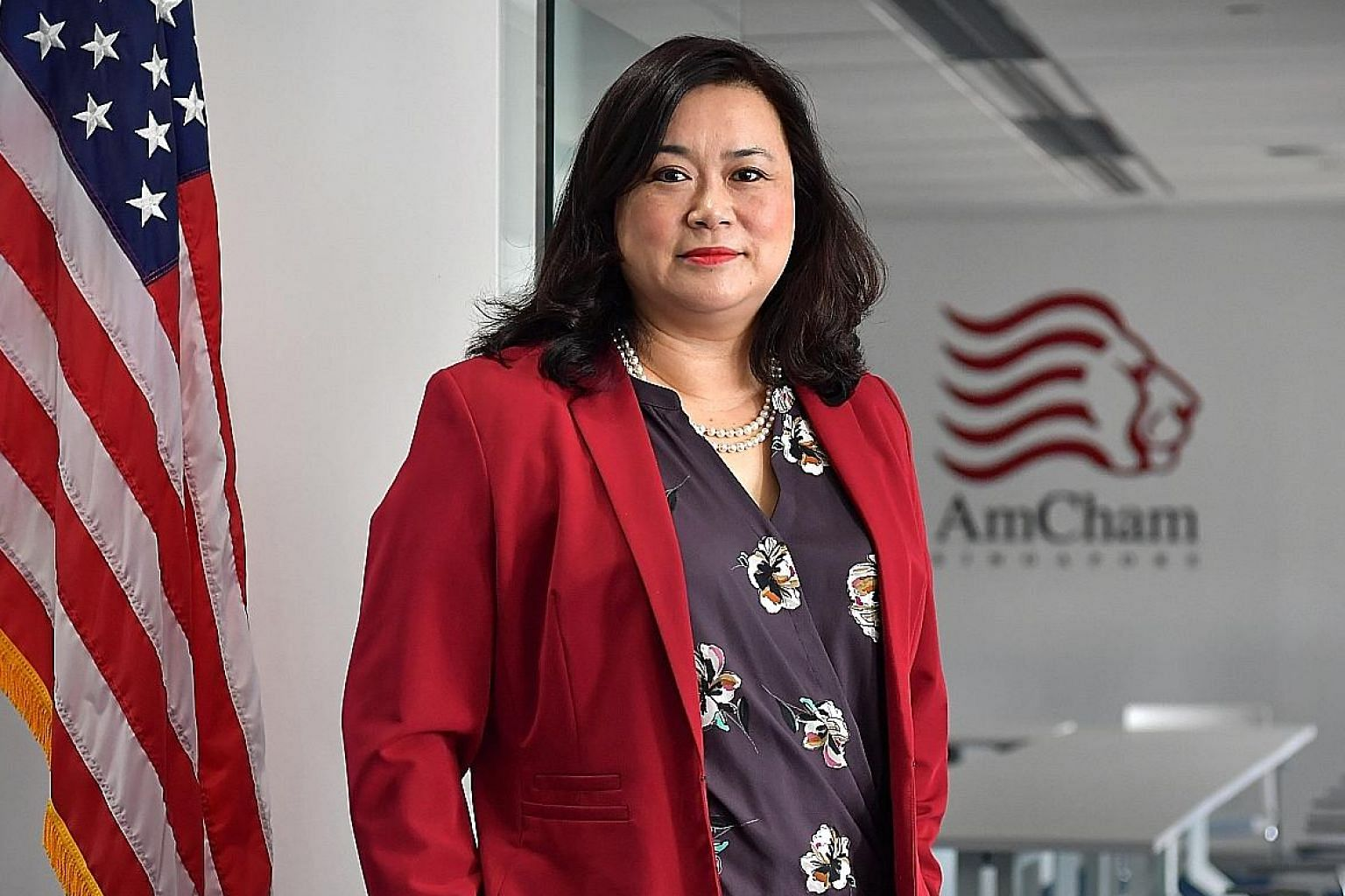 AmCham CEO Lei Hsien-Hsien said confidence in Singapore is strong and American firms remain committed to their operations here. The chamber intends to roll out an SME ACCelerate scheme in the third quarter of this year to train and develop small busi