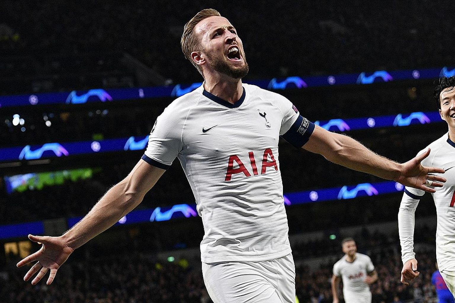 Tottenham striker Harry Kane has sparked talk about his future at the club after saying in an interview last month that he wants to win trophies sooner rather than later. PHOTO: EPA-EFE