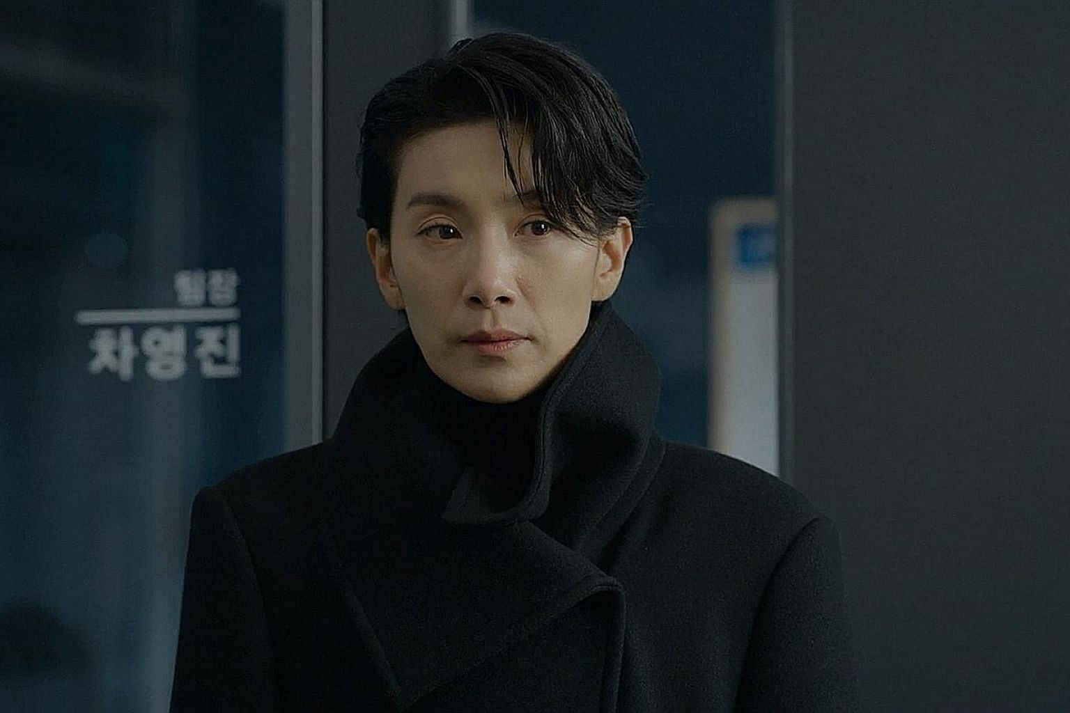 In Nobody Knows, Kim Seo-hyung (above) plays a detective out to solve a serial murder case, while in The World Of The Married, Kim Hee-ae (left) plays a doctor whose perfect life falls apart when she discovers that her husband is cheating on her.