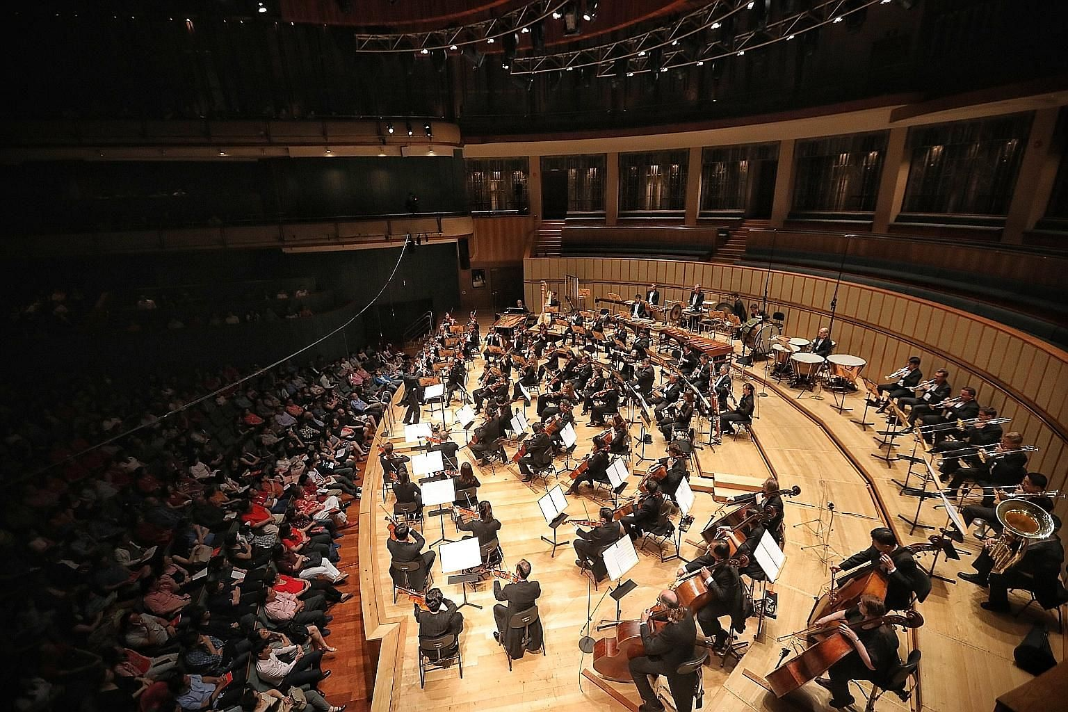 The upcoming season of the Singapore Symphony Orchestra (above, in a file photograph) is centred on the theme, A New Era.
