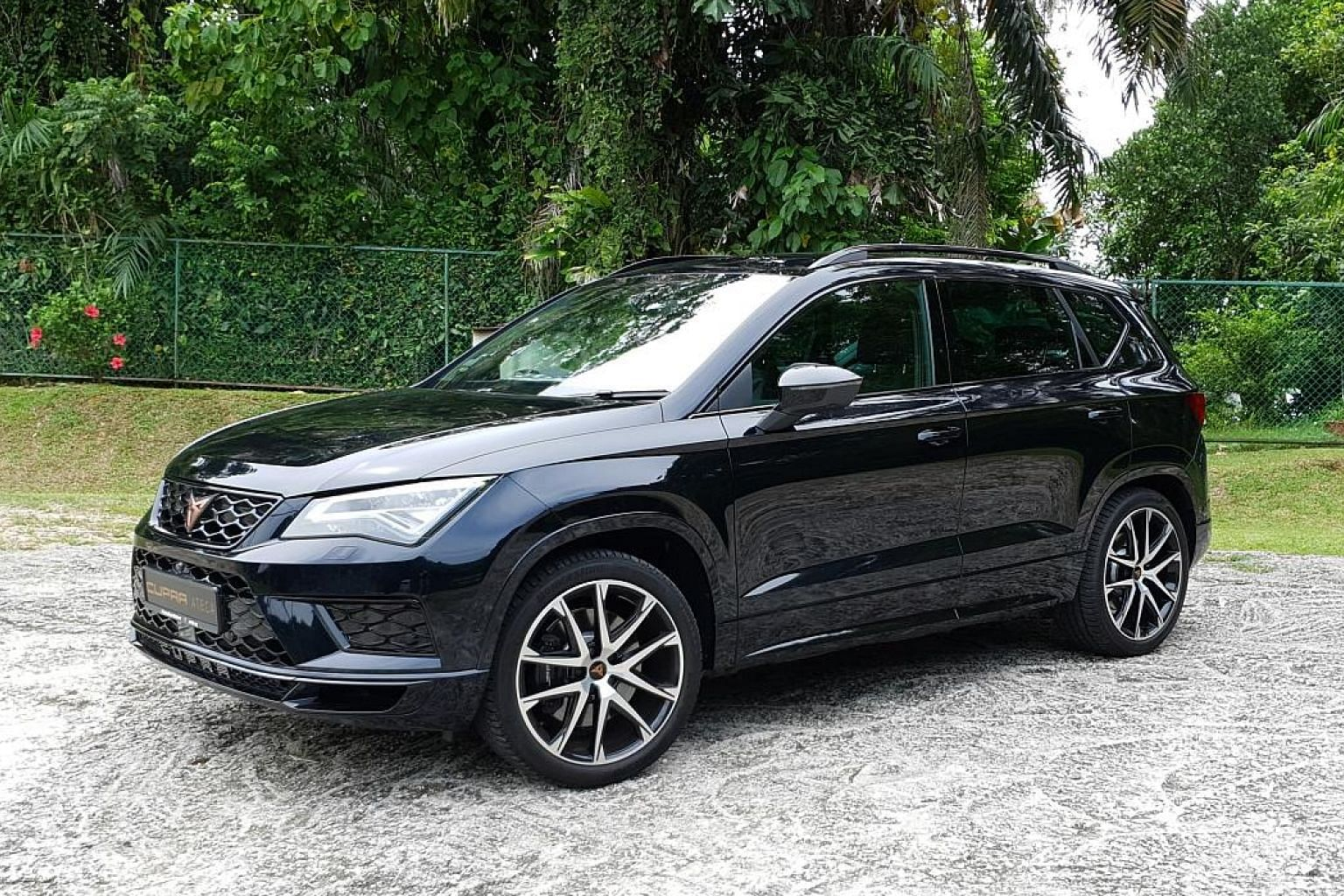 The stylish-looking Cupra Ateca has great noise insulation, a slightly firm but comfortable ride, and plenty of space for rear-seat passengers.