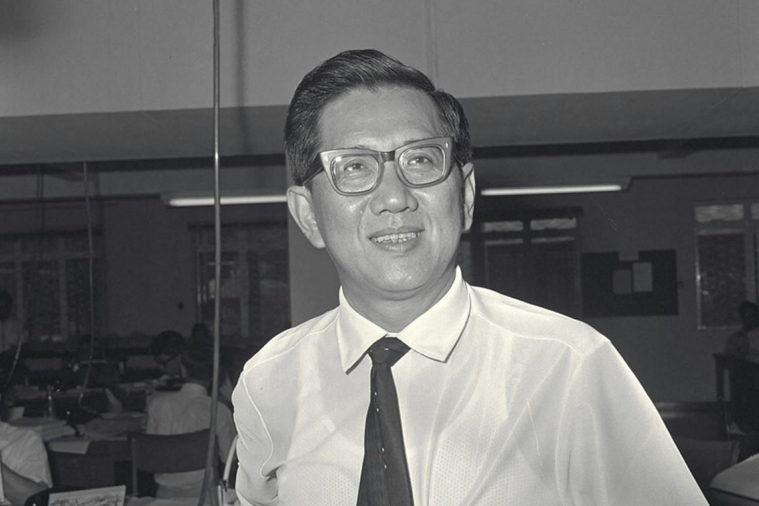 Professor Lim Kok Ann, who became dean of the medical faculty at the then University of Singapore in 1965, also helped establish the newer Sabin polio vaccine in the 1960s.