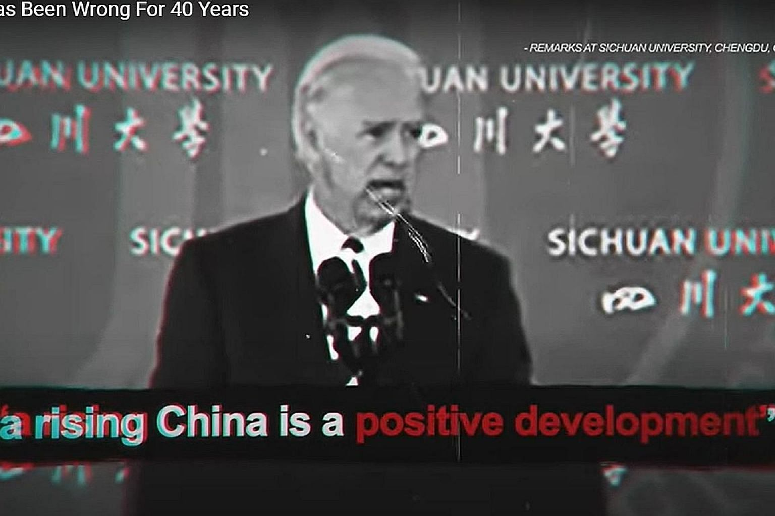 """In a battle of campaign ads, the Joe Biden campaign slams President Donald Trump for putting his trust in China's leaders, while the Trump team labels the Democratic hopeful as """"Beijing Biden"""" and accuses him of being soft on China."""