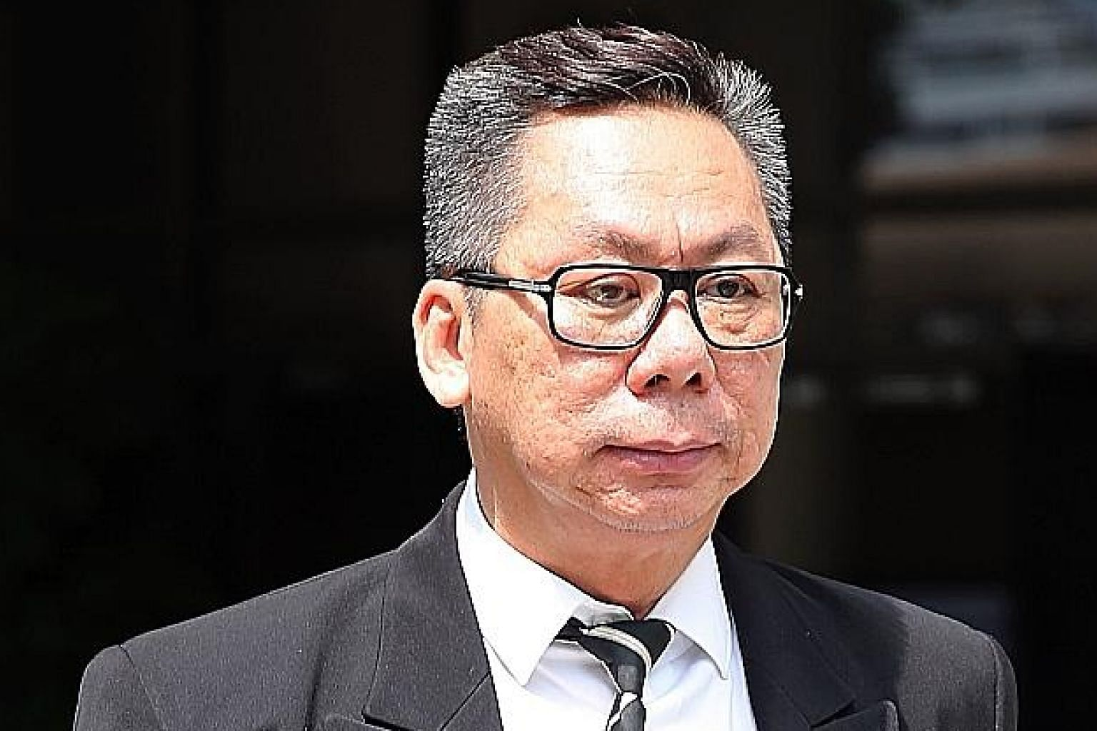 Edmund Wong was suspended in 2018 for the offensive way he cross-examined a victim of molestation.