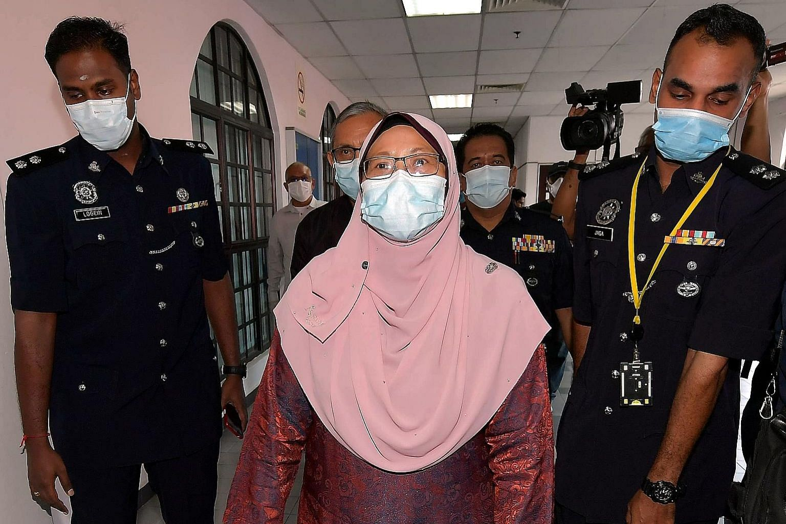 Fuziah Salleh was charged over a post with video she allegedly shared on Facebook that purported to show chaos at the Johor Baru Customs, Immigration and Quarantine Complex.