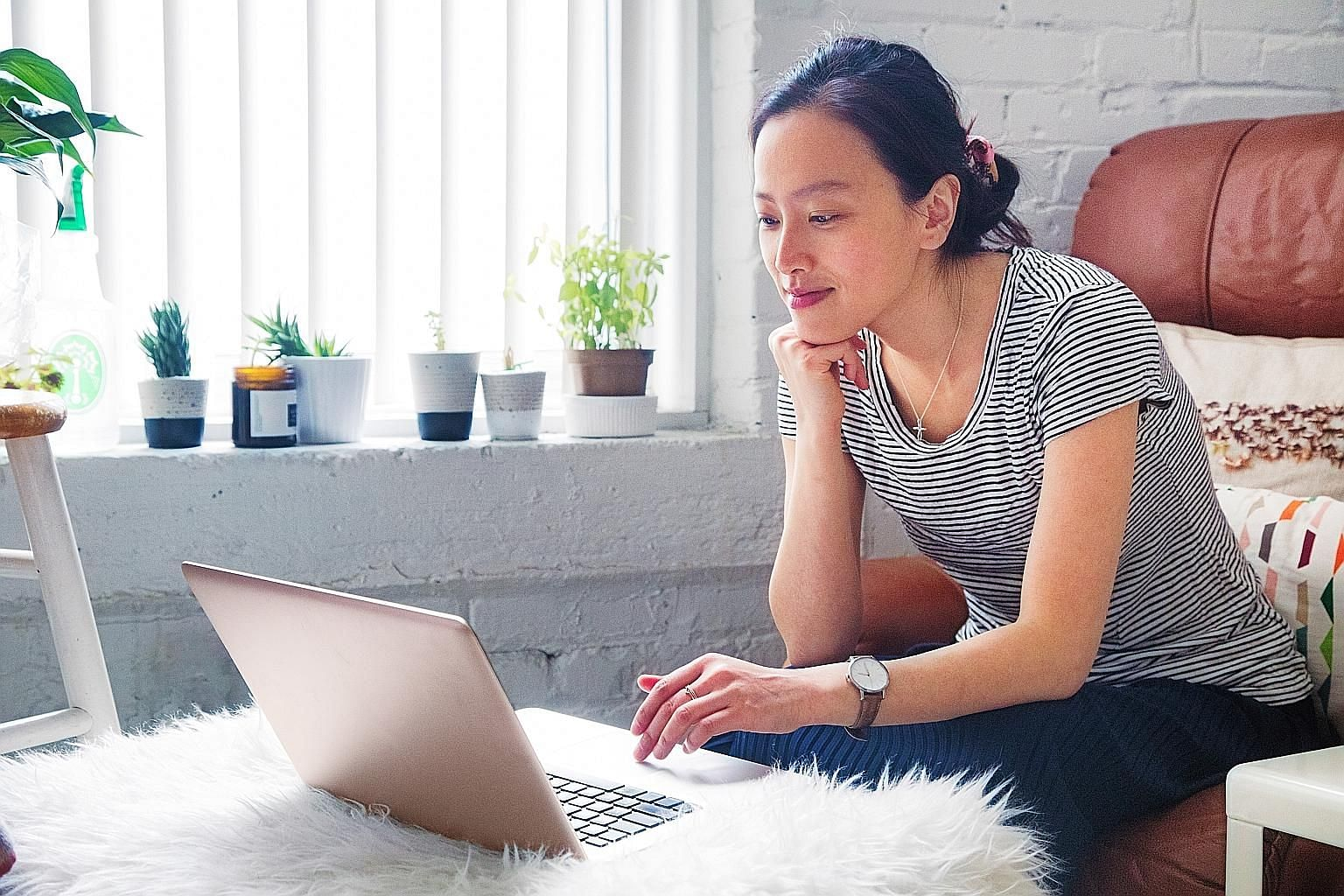 As more people working from home these days attend virtual meetings, an important factor to consider before buying a laptop is the placement of a Web camera.