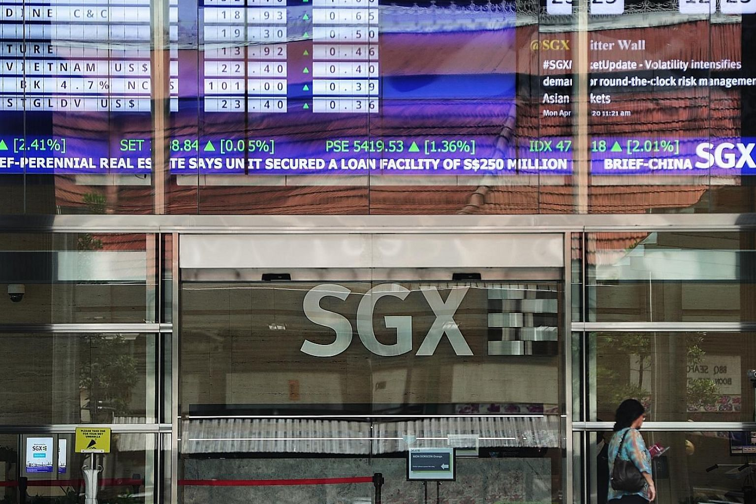 SGX, whose return has nearly doubled to 11 per cent from a 10-year average of 5.8 per cent, is one of the firms in Temasek's portfolio that have managed to keep total returns in positive territory.