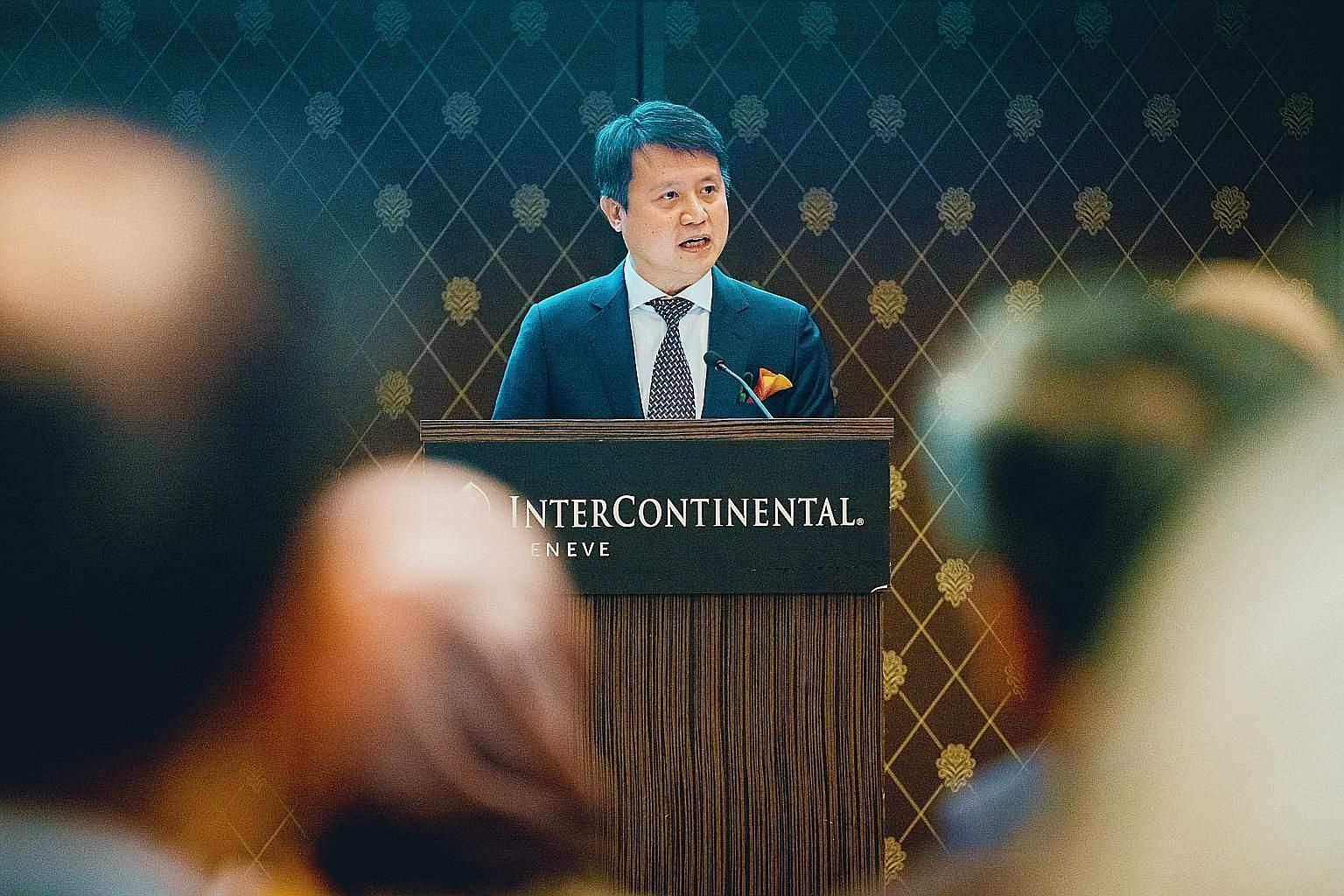 Mr Daren Tang, 47, was made director-general of the World Intellectual Property Organisation yesterday. He will begin his six-year term on Oct 1 and will relinquish his role as the Intellectual Property Office of Singapore (Ipos) chief executive. PHO
