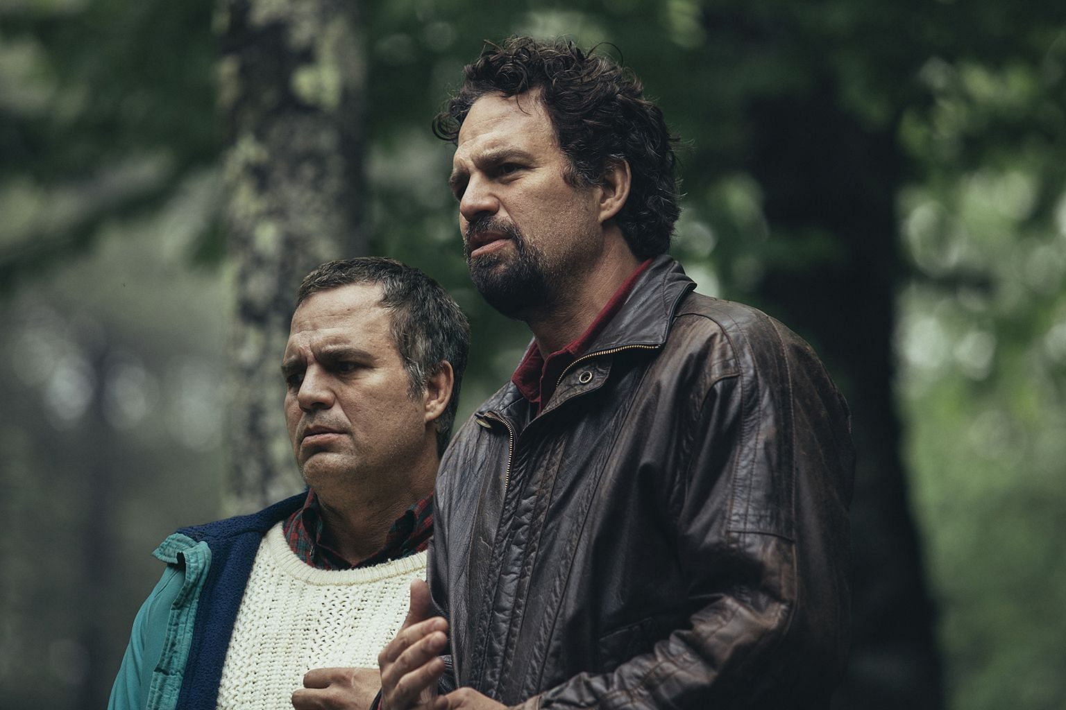 In I Know This Much Is True, actor Mark Ruffalo plays identical twins – Thomas (left) and Dominick (right) – with vastly divergent fates.