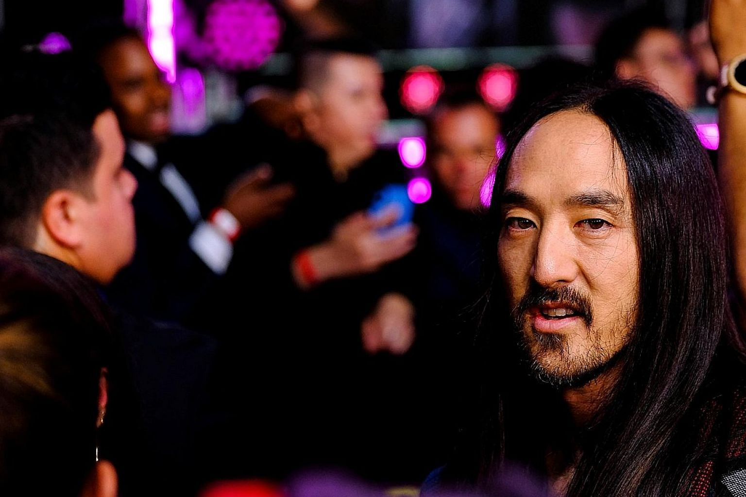 American DJ Steve Aoki will play music from his newly released Neon Future IV album at Marquee Singapore's first anniversary party next Friday. Dutch DJ Nicky Romero, who performed at Marquee Singapore last year, has been using the time off the road