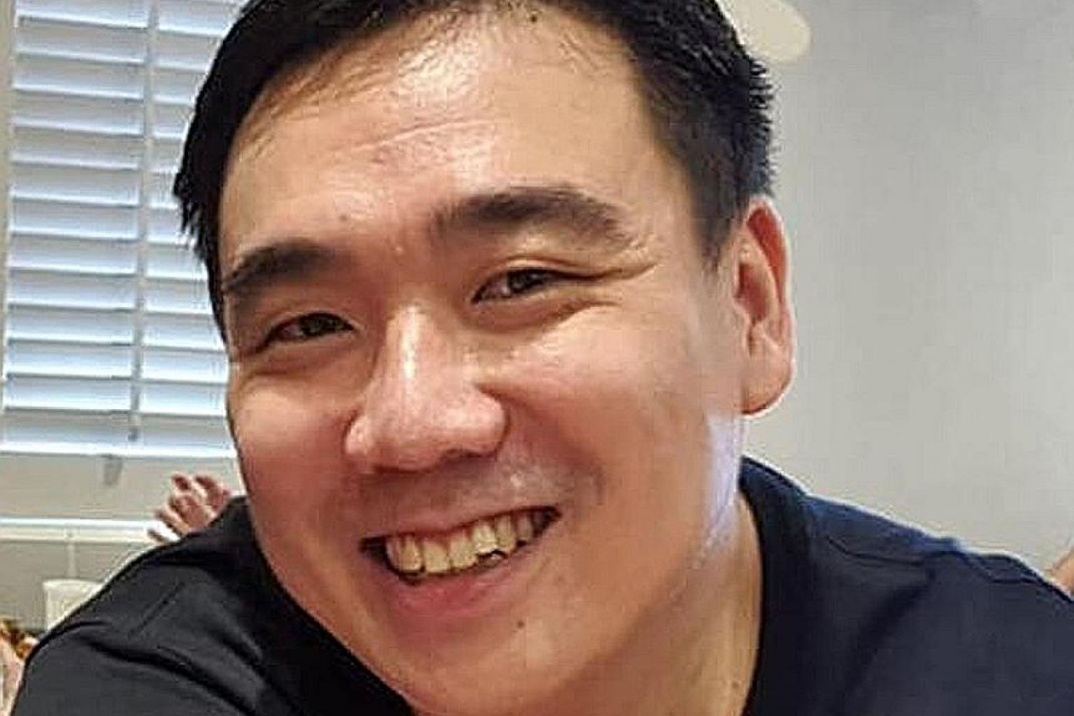 Mr Tay Rui Hao was working as an area manager at a retail store. The 38-year-old was jogging when he was stabbed near a bus stop in Punggol Field last Sunday. A resident heard his cries for help. PHOTO: TAY RUI HAO/FACEBOOK