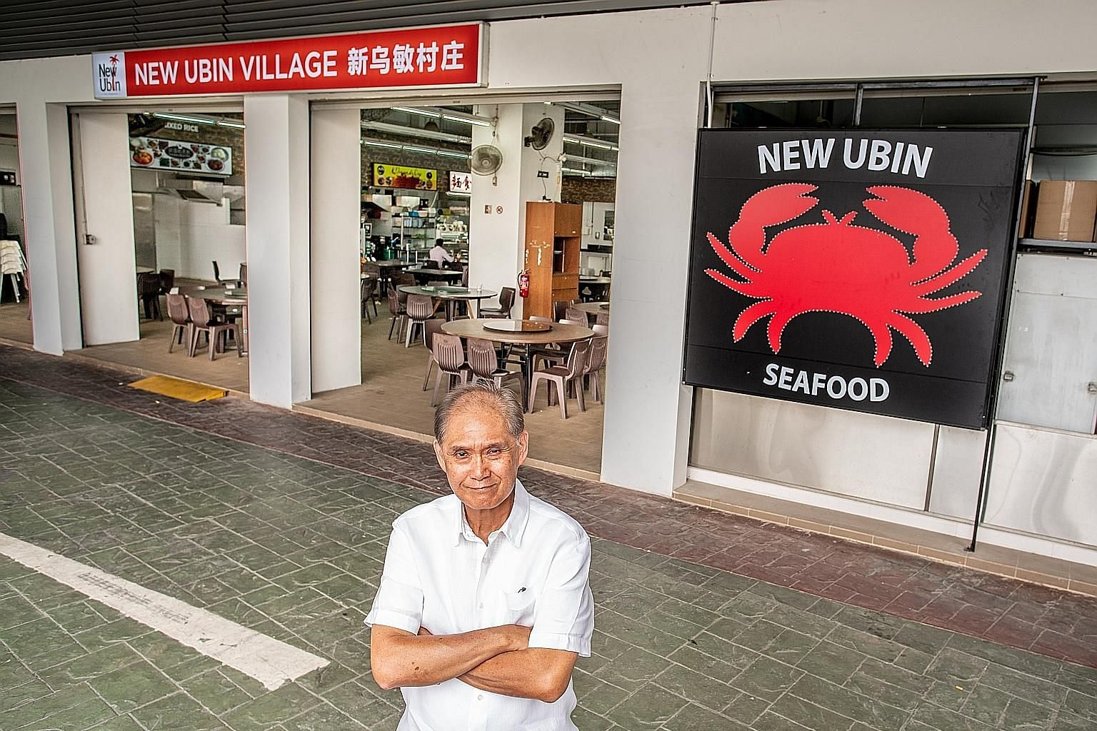 New Ubin Group dished out some of its orders late on Mother's Day, but it has since learnt to manage operations better. Co-founder Pang Seng Meng (above) says it is ready to launch UbinEats, which offers one-person meals.