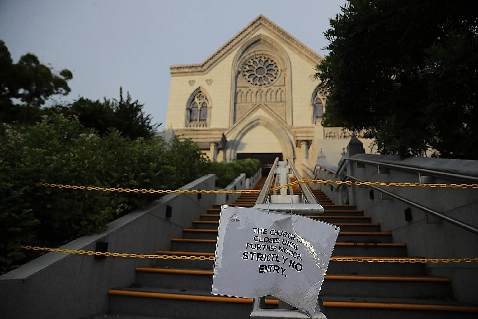 The Church of St Alphonsus, popularly known as Novena Church, is among places of worship that had to close fully after the circuit breaker measures kicked in on April 7. When these places reopen for private worship from June 2, there will be a limit