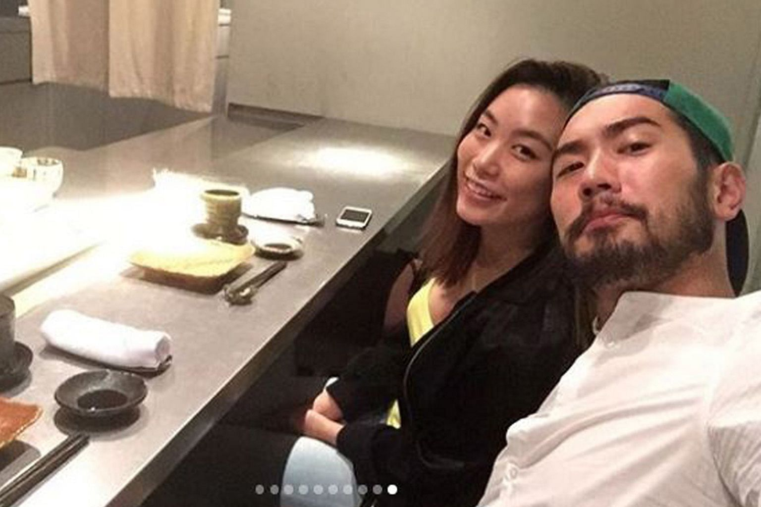 """SAYING I LOVE YOU ON 520: Many celebrities in the Chinese-language entertainment industry posted their declarations of love on social media on Wednesday, as 5-2-0 sounds somewhat similar to """"I love you"""" in Mandarin. But for Bella Su, girlfriend of t"""
