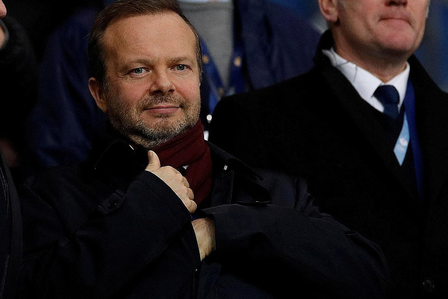 Manchester United can draw on cash reserves of £90 million and £150 million in credit to tide them over the Covid-19 uncertainty, says executive vice-chairman Ed Woodward.