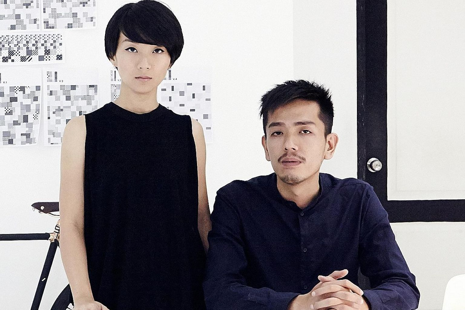 Co-founders of Singapore creative laboratory Anonymous Germaine Chong and Felix Ng quickly adapted to using their Apple iPad Pro and iPhones to work from home.