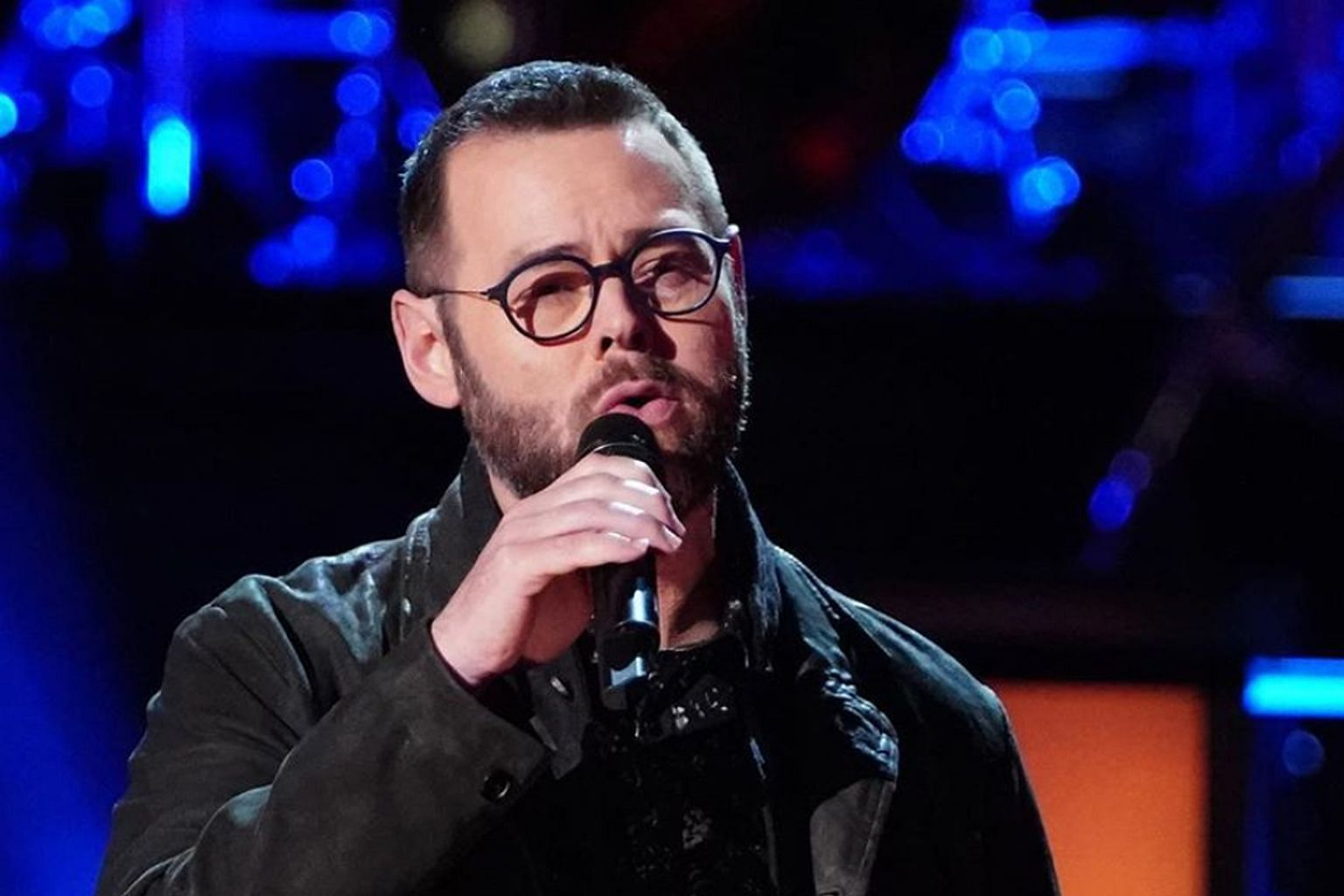 Newly crowned The Voice winner Todd Tilghman (above) plans to spend part of his US$100,000 prize money on a trip to Disney World for his family.