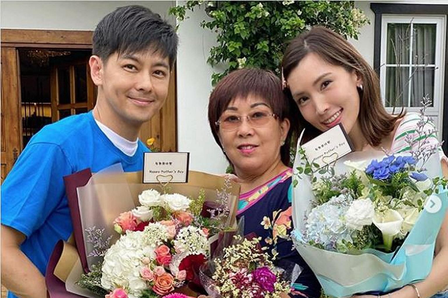Jimmy Lin, his mother and his wife, former model-actress Kelly Chen, all appear in Chinese variety series My Dearest Ladies.