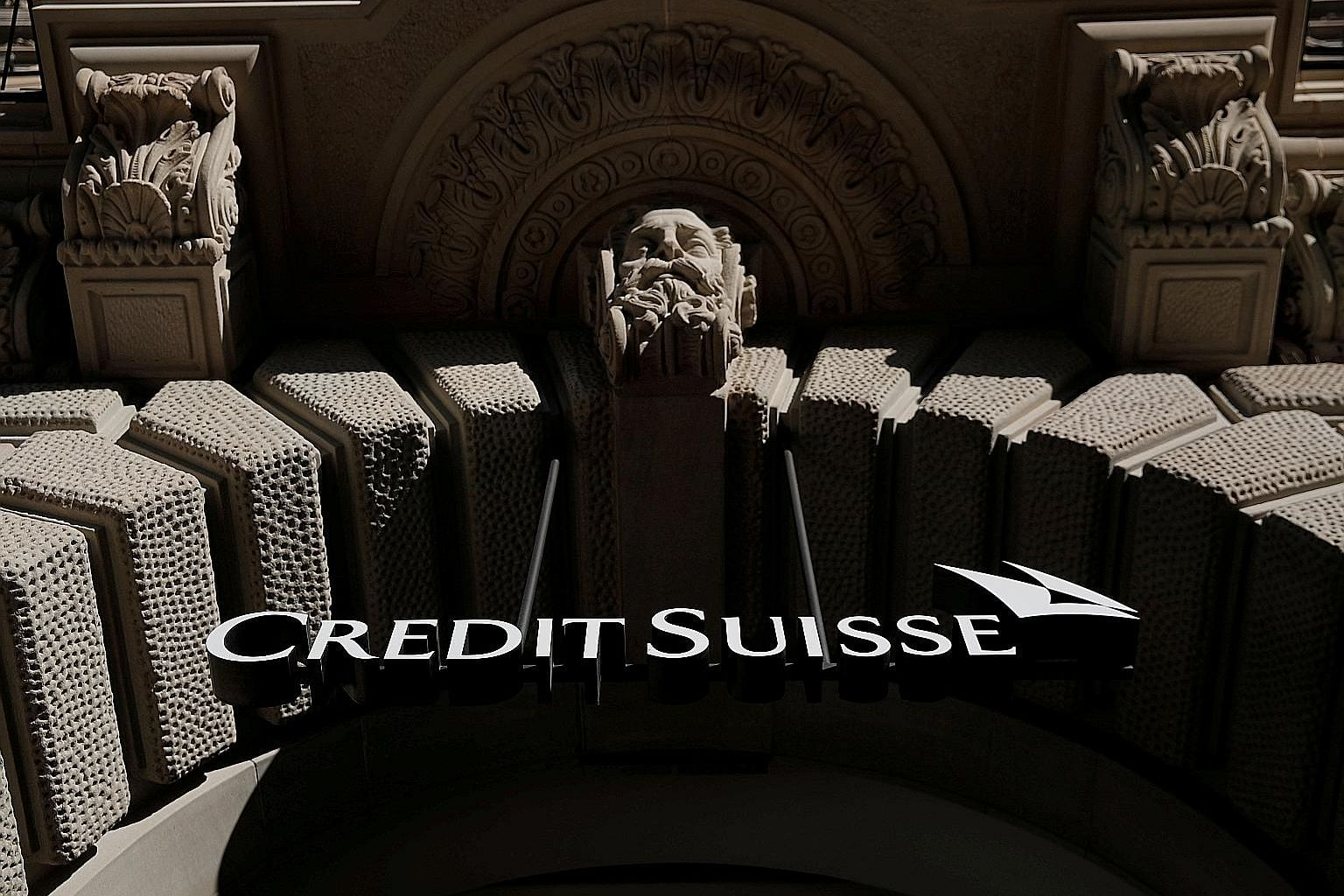Credit Suisse will benefit from a reduction in travel as videoconferencing takes off, and in the future will operate fewer branches with online banking getting a lasting boost from lockdowns, says its CEO Thomas Gottstein. PHOTO: REUTERS