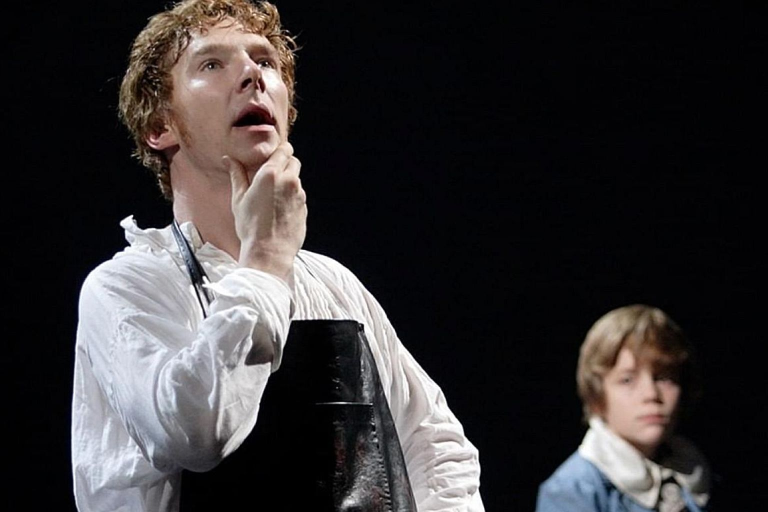 As I watched actor Benedict Cumberbatch (left) online in Frankenstein, I was guilty of thinking, if the National Theatre can afford the British star, it doesn't need my help. But I would pay for a ticket to one of its productions the next time I get