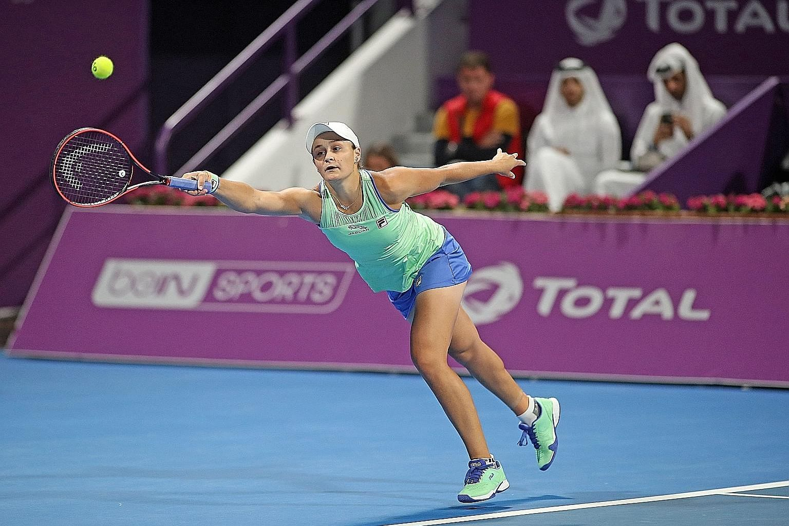After a bright start to tennis as a precocious teen, Ashleigh Barty spent time playing cricket, before returning to the court with success. She won the 2018 US Open with Coco Vandeweghe in the women's doubles and last year's French Open singles.
