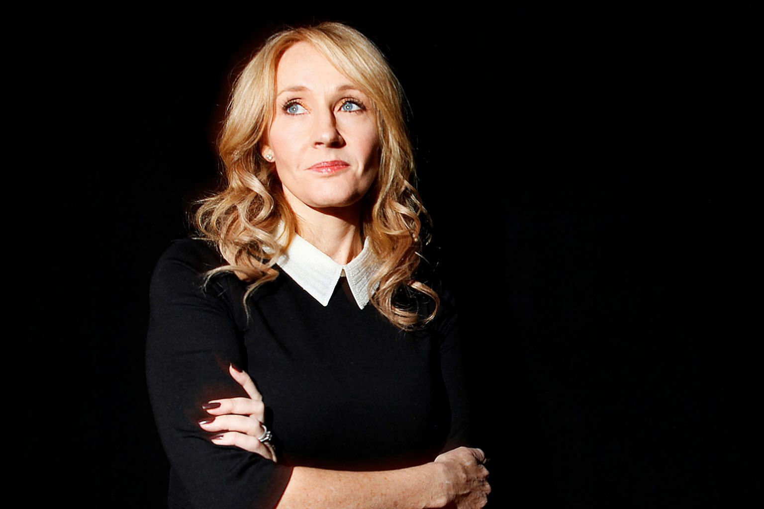 British author J.K. Rowling (above, in a 2012 photograph) will publish further chapters of The Ickabog every weekday until July 10.
