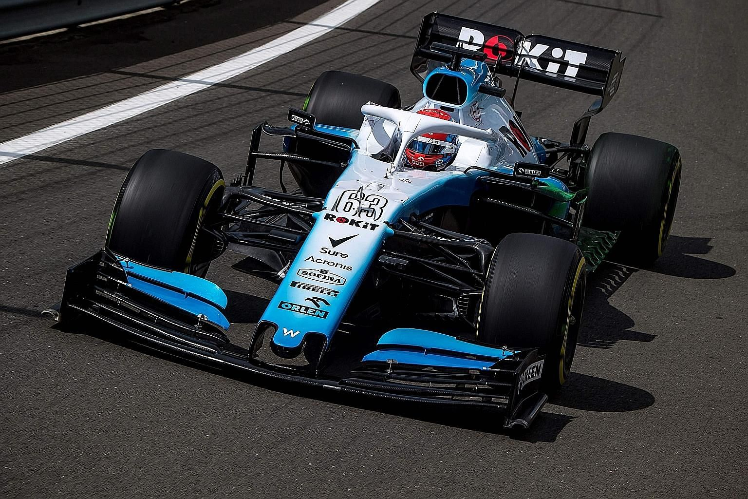 Williams' George Russell driving during last year's British Grand Prix at Silverstone. He failed to earn a point as the team finished bottom of the 10 F1 teams last season.