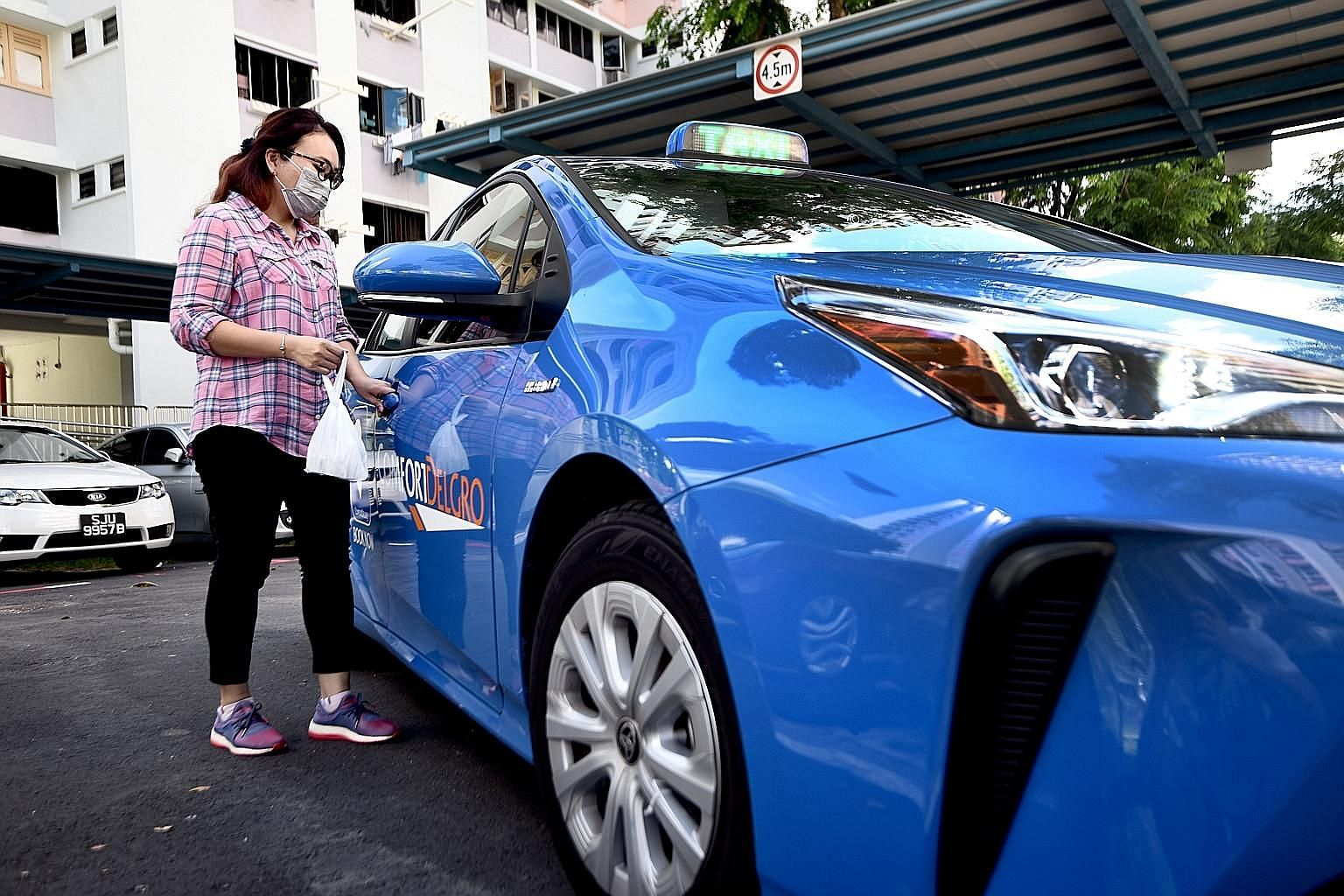 Taxi driver Jade Cho, who has signed up to deliver medicine, said she is glad to have an extra option to increase her earnings. ComfortDelGro said drivers will have to undergo online training before they can start delivering medicine, and they must e