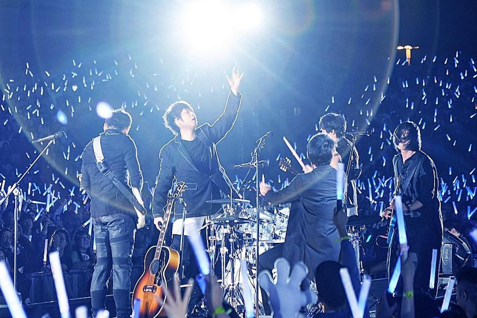 Mayday will hold their concert at the National Stadium on Feb 27 next year.