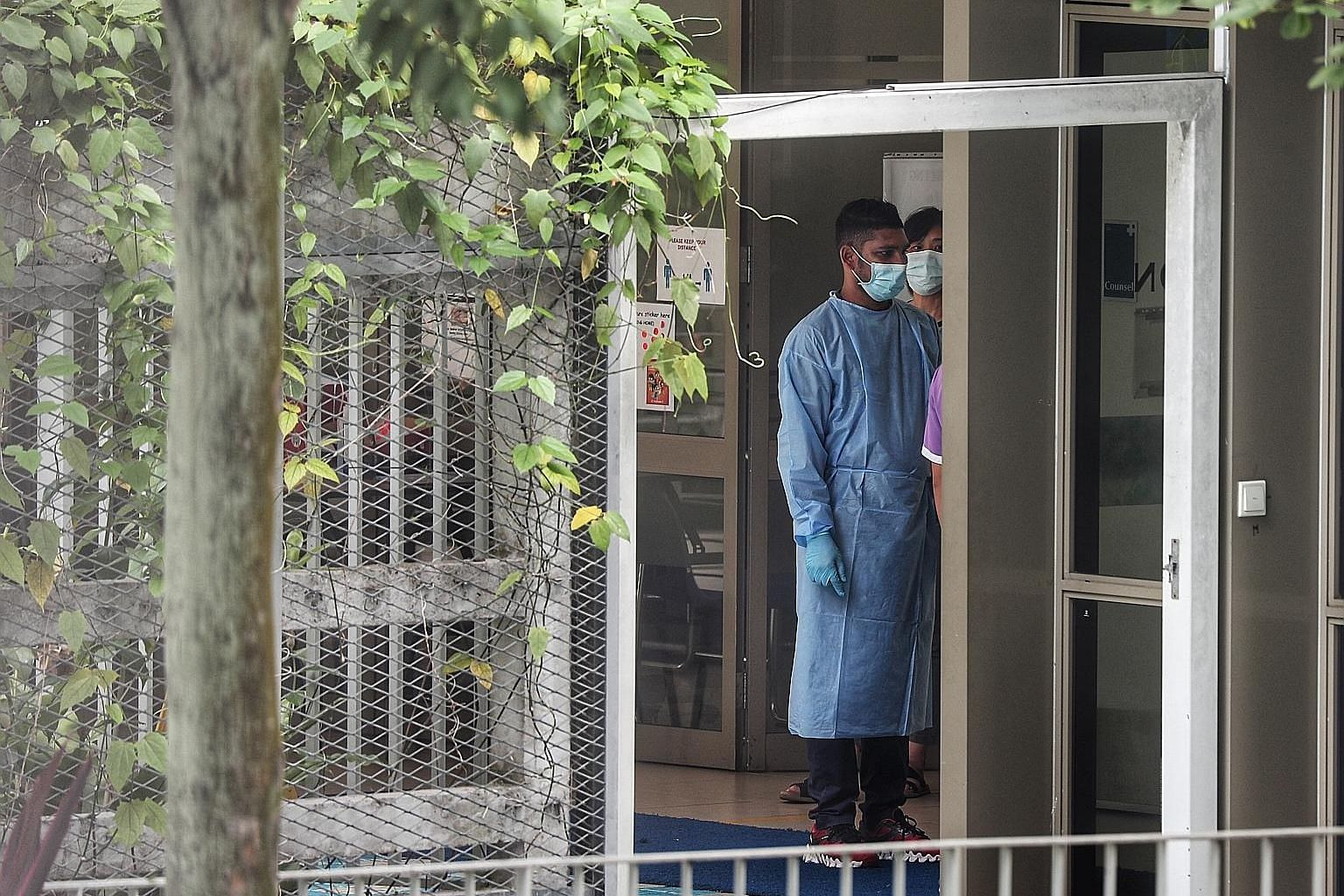 Pacific Healthcare Nursing Home, where a Covid-19 case was confirmed in April. The Ministry of Health said on Sunday that it had completed testing all nursing home employees and residents for the coronavirus. Staff of eldercare services in operation,