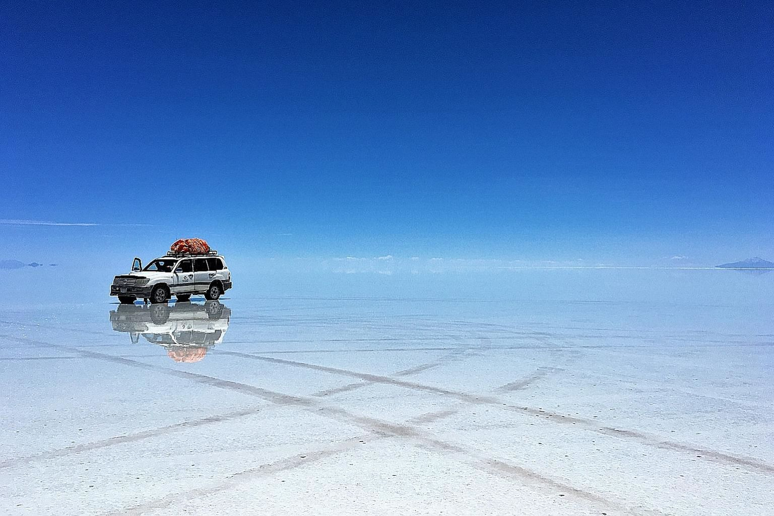 Bolivia's must-see sights include its salt flats (above), Laguna Colorada and Anaconda Canyon.