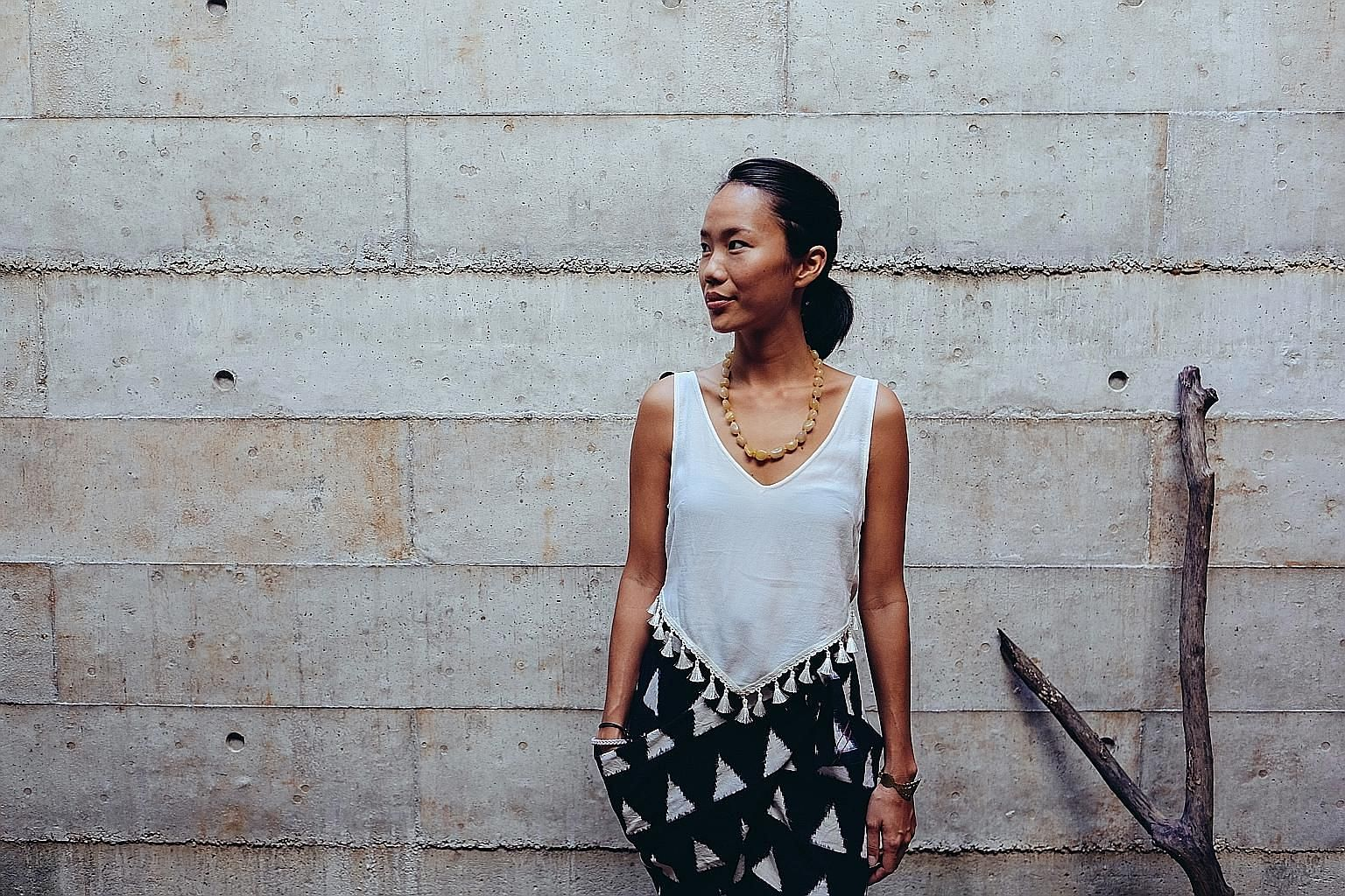 Ms Ho Renyung co-founded socially conscious clothing label Matter in 2014.