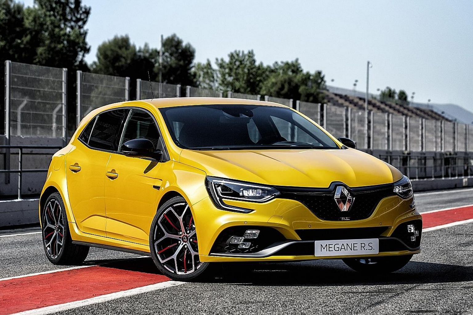Renault Megane RS Trophy lands in Singapore.