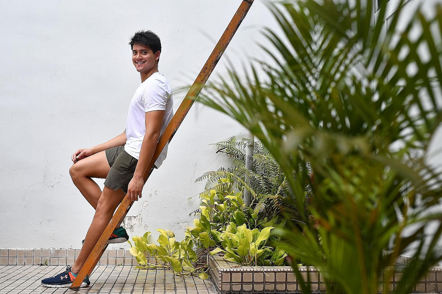 A year older and wiser, Joseph Schooling cannot imagine a life without the pool for the years ahead. If he is not competing, it will always be a place of solace and tranquillity for the Olympic champion. ST FILE PHOTO