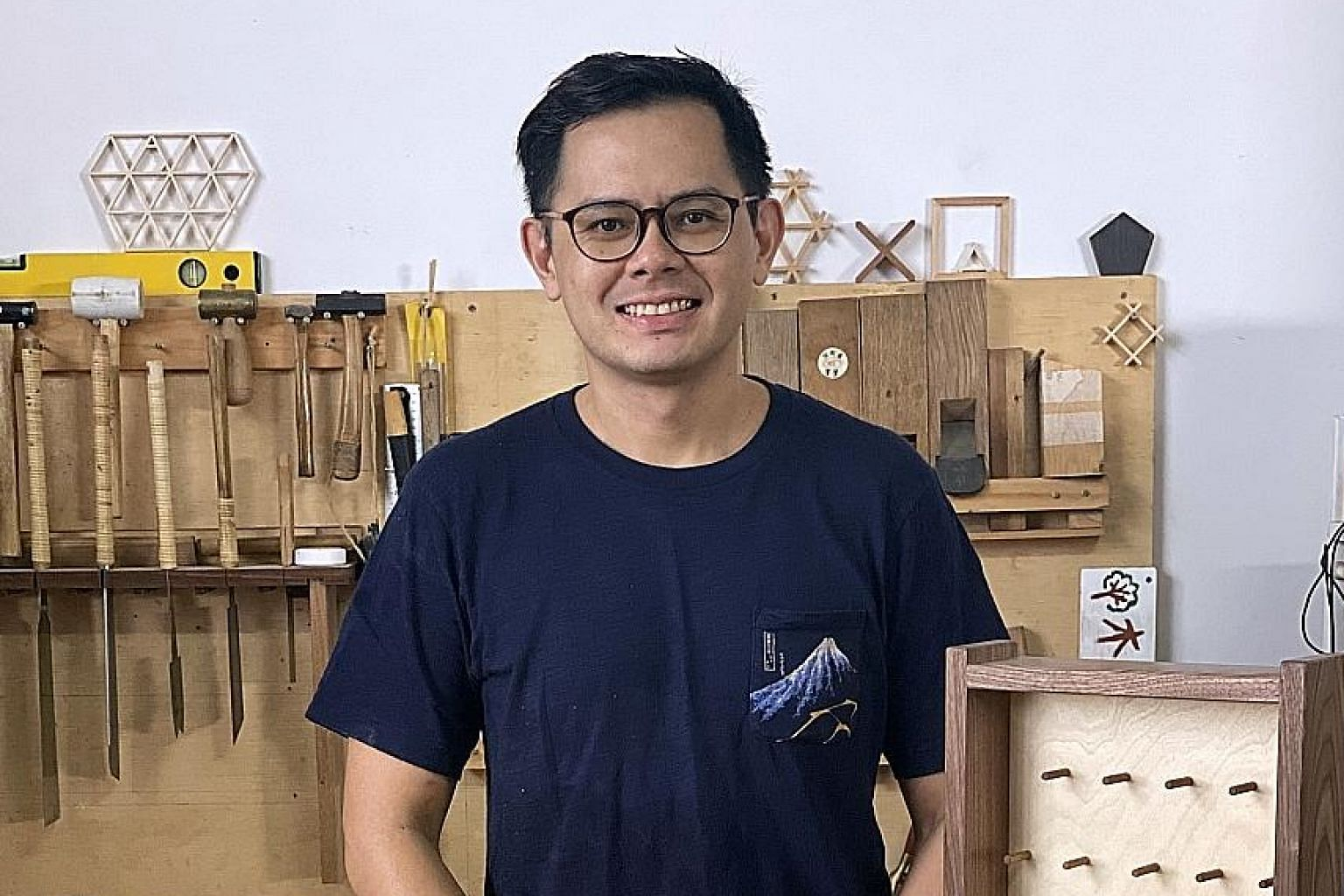 Artisan carpenter Alvan Koh will get three quarterly partial payouts of $2,400 each. While grateful for the help, he says the explanation for the reduced amount could be better communicated. Creative producer Sharmila Yogalingam, who lives in her par