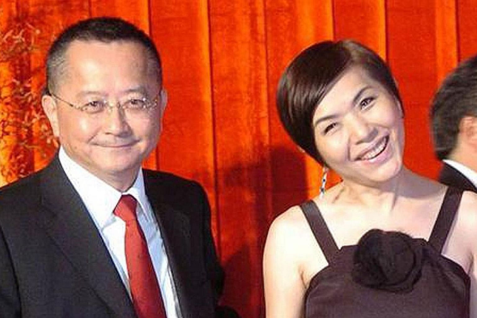 Stella Chang's divorce from her husband, banker Sung Hsueh-jen (both above), came as a shock especially when it was reported last month that he had bought her a mansion.
