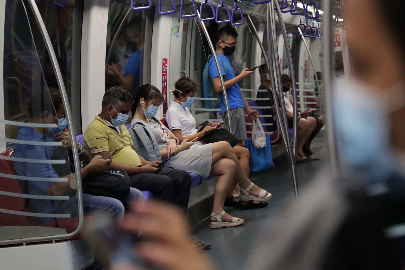 The study by the Singapore Management University involved 1,900 subscribers of various info-communications services between February and April. ST PHOTO: GIN TAY