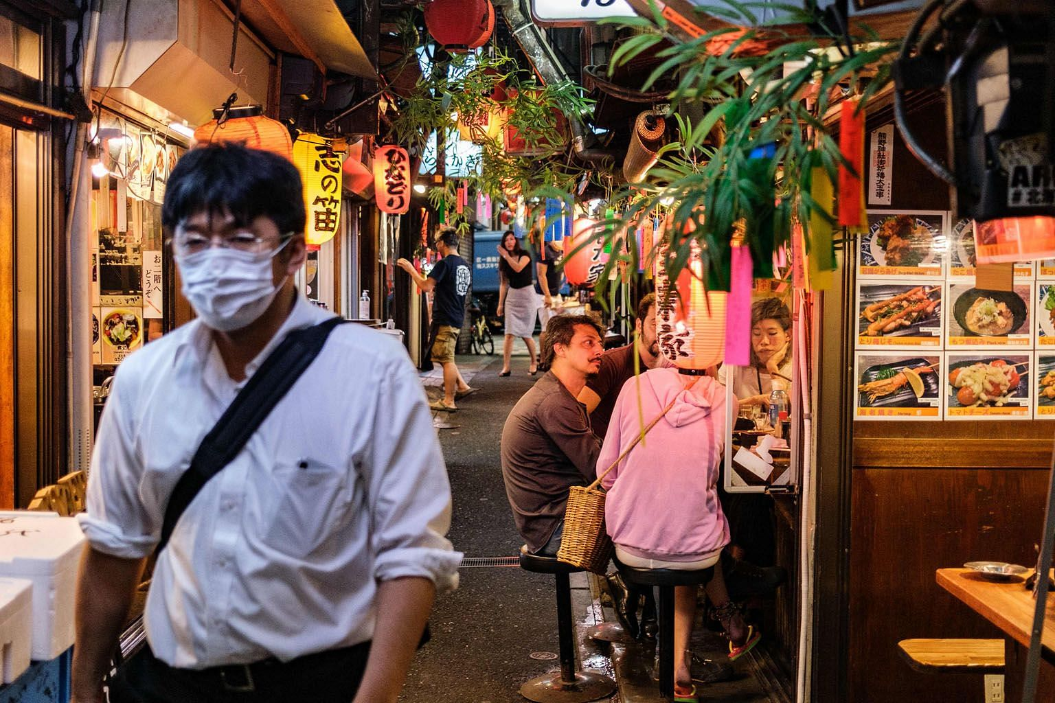 Tokyo's Shinjuku district is one of the areas in Japan that have been linked to new cases of coronavirus infection.