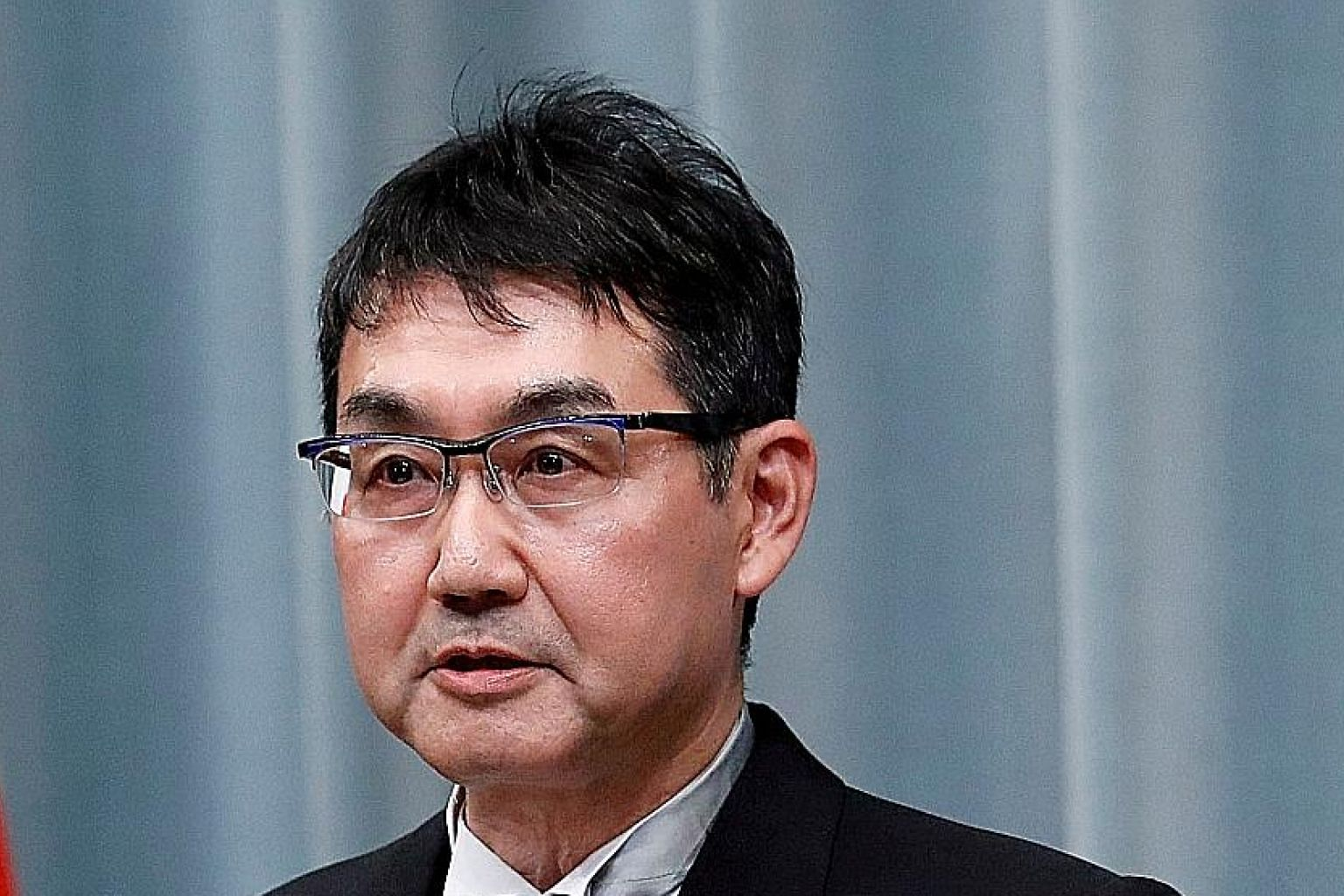 Japan's former justice minister Katsuyuki Kawai is accused of buying votes for his wife at last July's Upper House election.