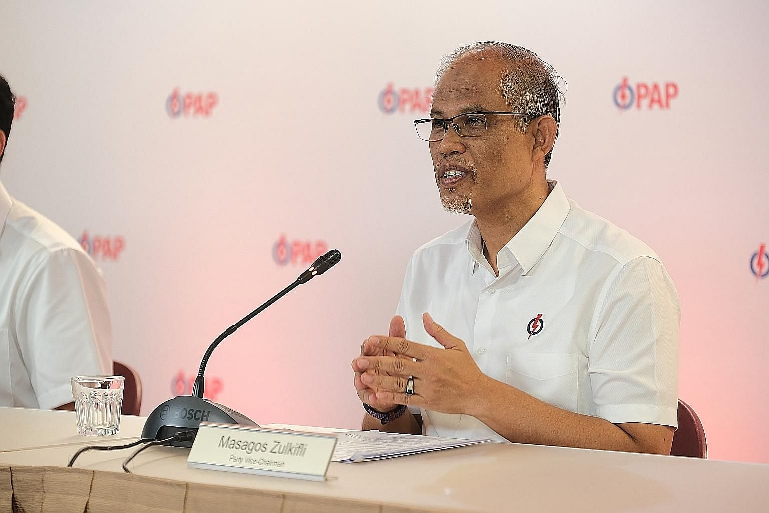 Candidates should not be defined by a single moment in time or in their career, PAP vice-chairman Masagos Zulkifli said. PHOTO: PAP