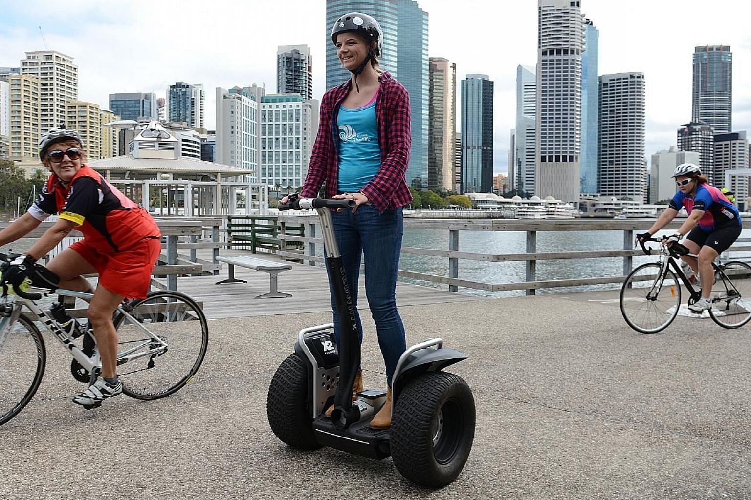 The Segway was a technological marvel, says the writer, but it was impressive without being particularly useful.