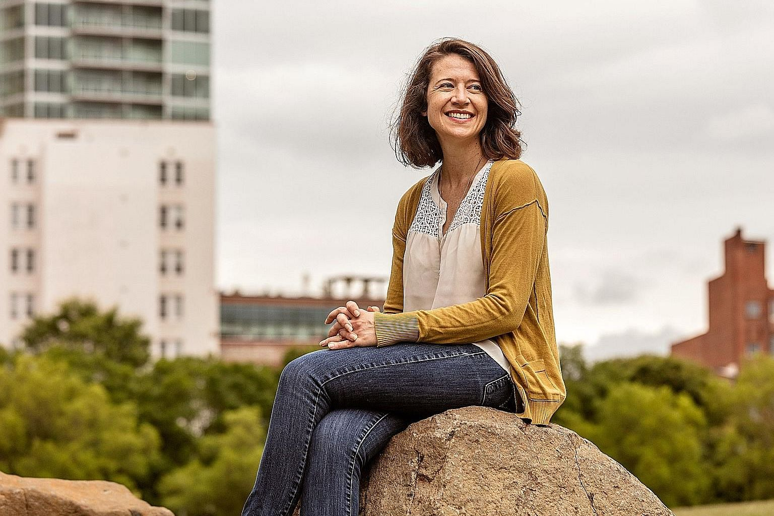 People who loan money to others tend to be over-optimistic when it comes to whether they will get their money back, says Ms Mariel Beasley (above), co-founder of the Common Cents Lab, a financial behaviour research lab.