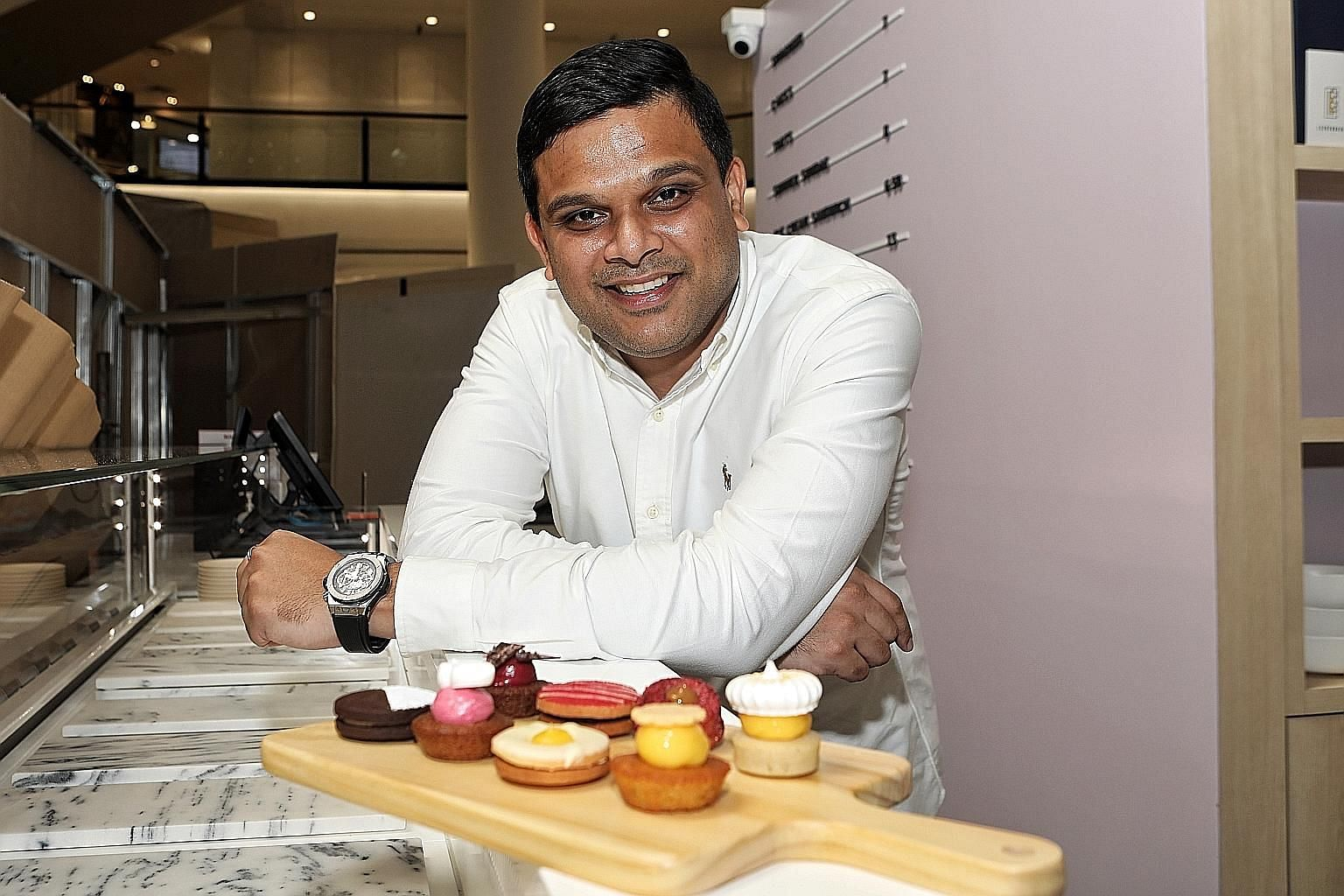 Mr Vijay Pillai of lifestyle company Caerus Holding is bringing in Danish pastry shop Leckerbaer (above) and Luke's Lobster of New York.